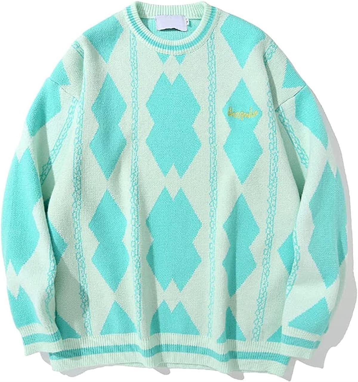 JOAOL Men Streetwear Autumn Winter Casual Pullover Harajuku Patchwork Couple Oversized Sweater