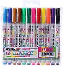 Leepus Set di pennarelli cancellabili a secco 8 pezzi con cappuccio in gomma Penne per lavagna Forniture di cancelleria per la casa della scuola in ufficio