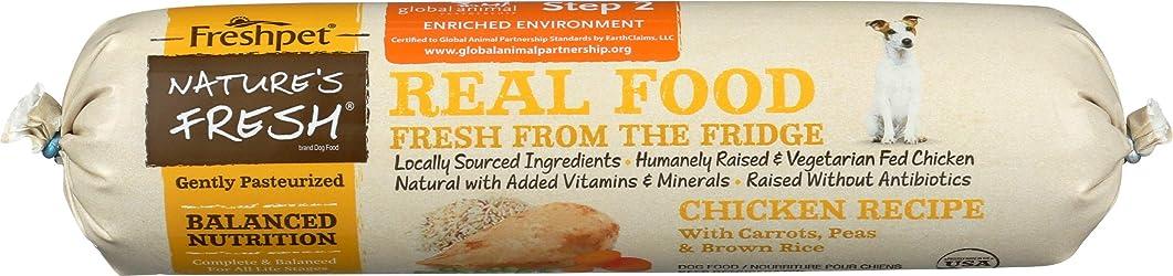 Freshpet, Dog Food Natures Fresh Chicken Recipe, 16 Ounce