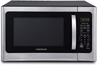 Farberware Professional FMO12AHTBKE 1.2 Cu. Ft. 1100-Watt Microwave Oven With Smart Sensor Cooking and LED Lighting