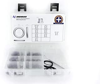 Genuine Brennan Industries FS4000-Kit ORFS / FS Hydraulic Oring Face Seal Kit (Fits Parker, Gates, Aeroquip, Weatherhead & other SAE Fittings/Adapters) with Bonus O-Ring Picker