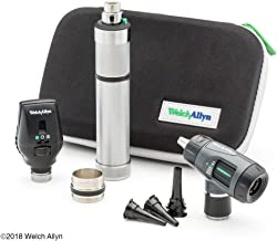 Welch Allyn Standard Diagnostic Set feat. Coaxial Ophthalmoscope, MacroView Otoscope and Nickel Cadmium Rechargeable Handle