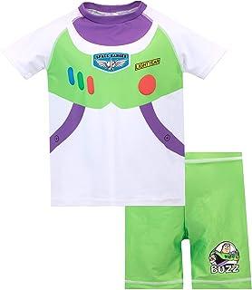 Disney Bañador de Dos Piezas para niño Toy Story Buzz Lightyear
