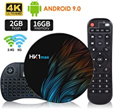 Android 9.0 TV Box 【2G+16G】con Mini Teclado inalámbirco