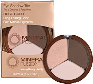 Mineral Fusion Eye Shadow Trio, Rose Gold, 0.1 Ounce