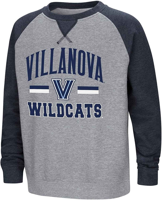Colosseum Youth Villanova Wildcats Fleece Crewneck Sweatshirt