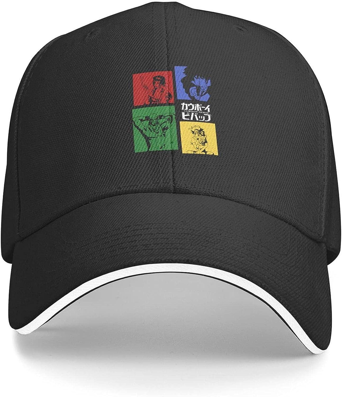 Cowboy Bebop Unisex Trucker Baseball Cap Adjustable Sandwich Hat