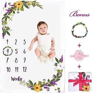 Baby Monthly Milestone Blanket, 55