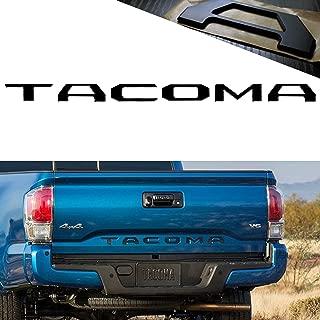 YaaGoo Tailgate Letter For 2016 2017 2018 Toyota TACOMA,Insert Hard Plastic Stiff Sticker,Matte Black