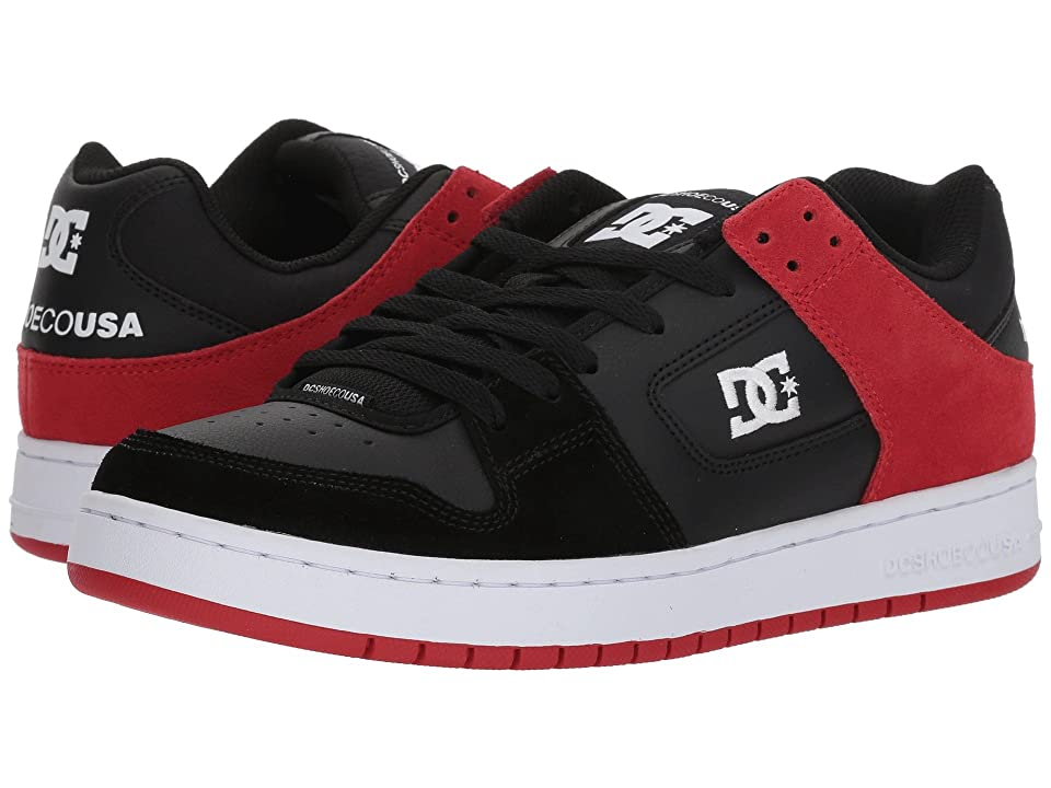 DC Manteca (Black/Athletic Red) Men