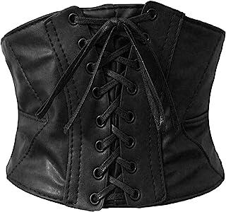 Alivila.Y Fashion Corset Women's Faux Leather Underbust Waist Belt Corset