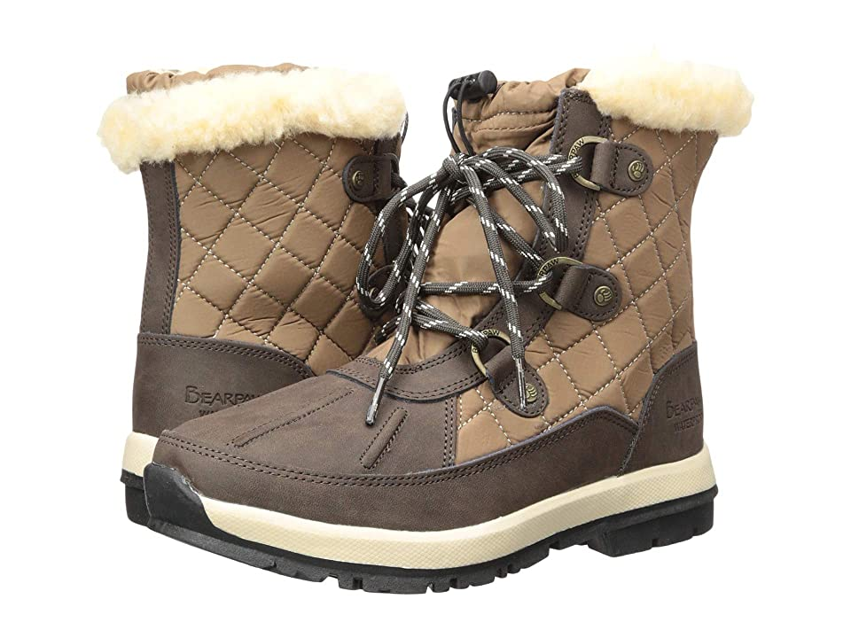 Bearpaw Bethany (Chocolate/Tan Nylon) Women