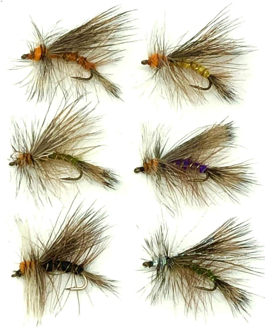 Selling Feeder Creek Assortment Stimulator Dry Fishing 36 Fly Lures Popular popular
