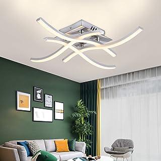 Plafoniera LED, Lampada Lampadario Plafoniera dal Design Moderno, 4000k Bianco Caldo, 24W 2.000Lm, Lampada da Soffitto Per...