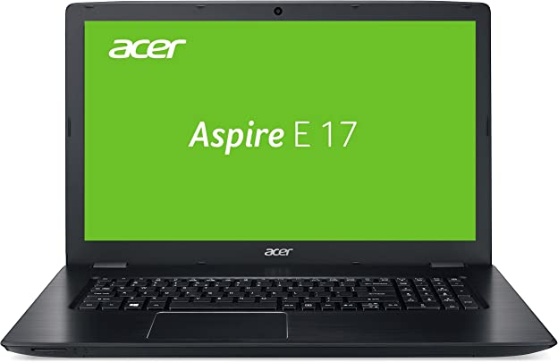 Acer Aspire 17 E5-774G-553R 43 9 cm 17 3 Zoll Full HD Laptop Intel Core i5-7200U 8GB RAM 128GB SSD 1000GB HDD GeForce 940MX DVD Win 10 schwarz Schätzpreis : 348,00 €