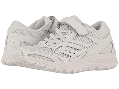 Saucony Kids Cohesion 12 A/C (Little Kid/Big Kid) (White) Boys Shoes