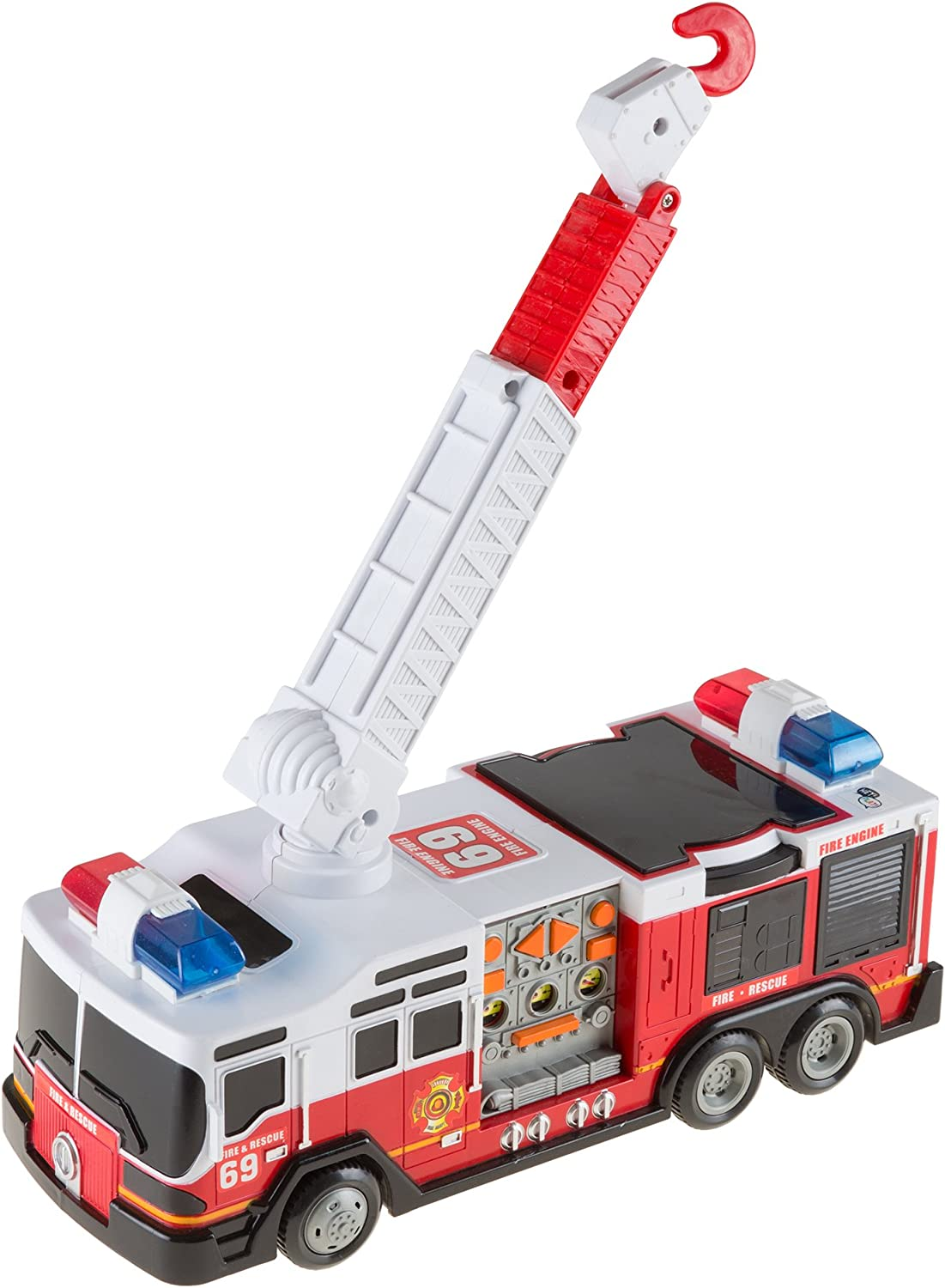 Hey  Play  80HM821499 Toy Fire Truck
