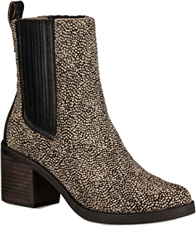 Women's Camden Exotic Black Dotted Boot