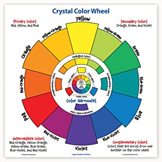 Crystal CRP7230 Large Student Color Wheel, Cardstock, Multi