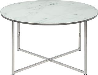 AC Design Furniture 0000057546 Mesa de Centro Marco Cromado