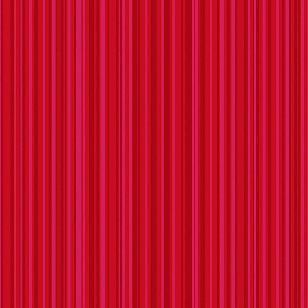 American Crafts Core'dinations 12 Pack of 12 x 12 Inch Patterned Paper Red Stripe,