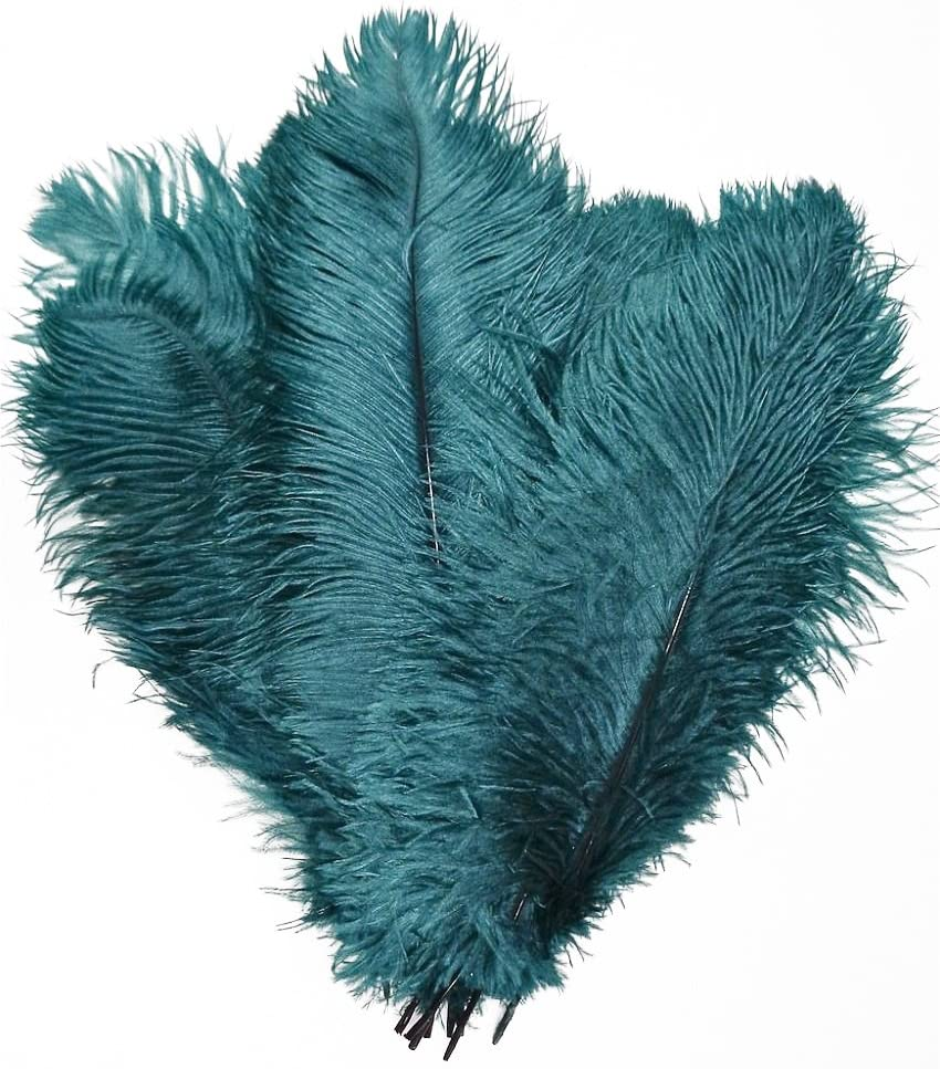 MELADY Pack of 100pcs Natural 30-35cm Max 83% OFF 12-14inch Ostrich Trust Feathers