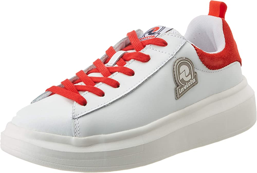 Invicta ,scarpe glam, sneakers per donna,in pelle 4461164/D