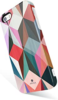 iPhone 5 / 5s /SE case for Girls, Akna Get-It-Now Collection High Impact Flexible Silicon Cover for iPhone5/5s/SE [Colorful Cube](344-U.S)