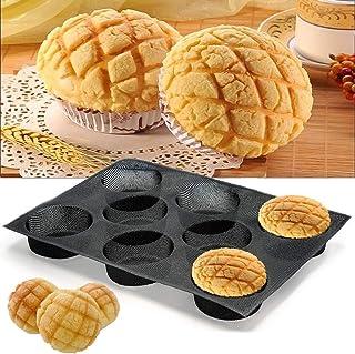 Plateau de cuisson en silicone Moule à baguette antiadhésif Tapis de cuisson en silicone Moules à pain français perforés, ...