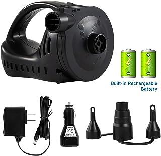 Etekcity Electric Air Pump Rechargeable Portable Air Mattress Pump Quick-Fill Inflator..