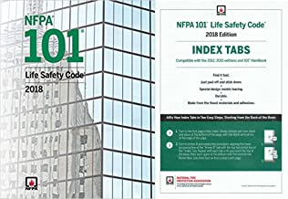 NFPA 101 2018: Life Safety Code Paperback (Softbound) with Index Tabs 2018 Editions Set