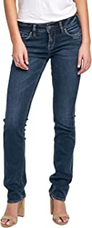 Women's Elyse Relaxed Fit Mid Rise Straight Leg