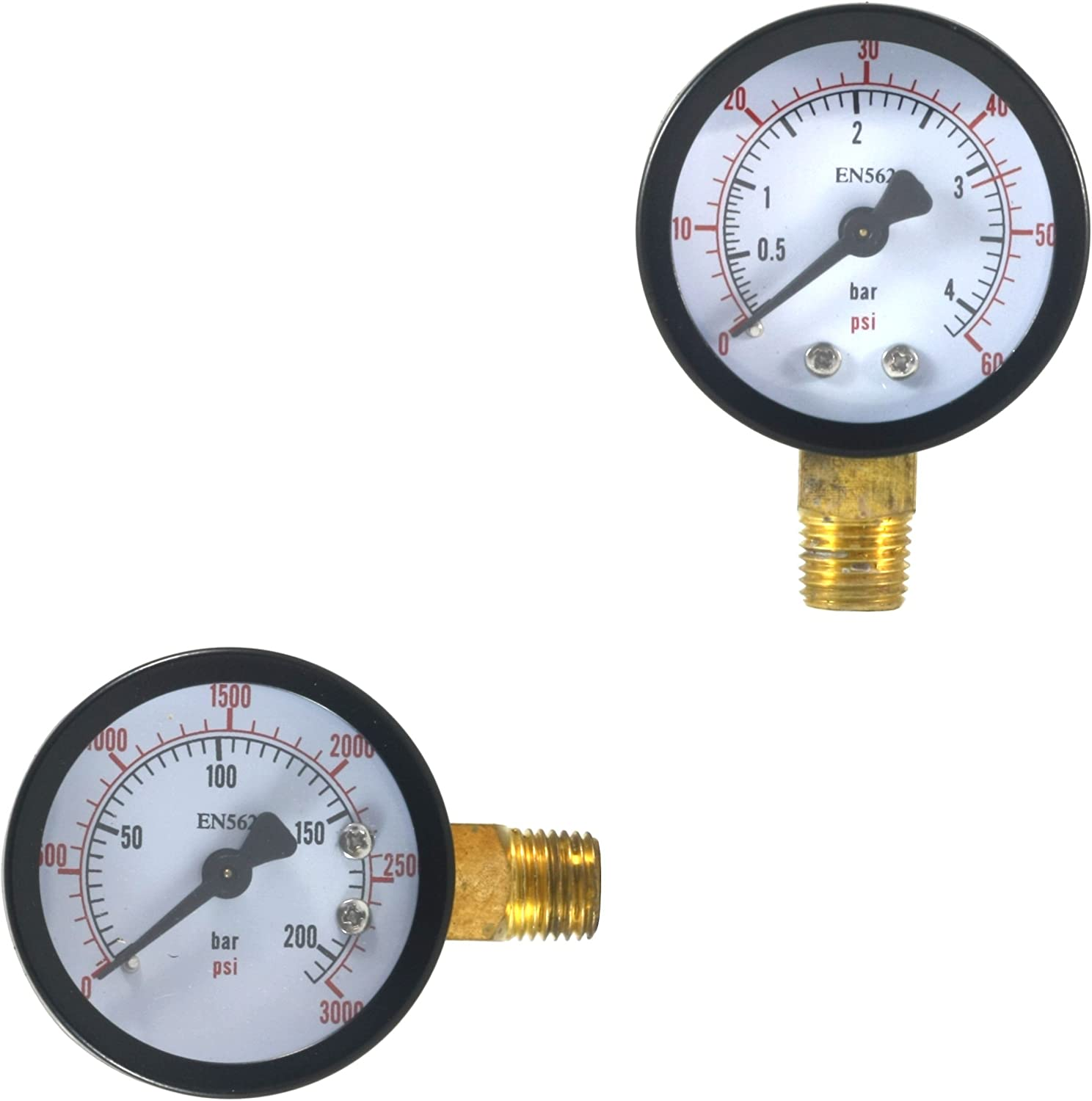 High and Low Pressure CO2 Gauges System Attention ! Super beauty product restock quality top! brand Keg for Soda Beer Regula