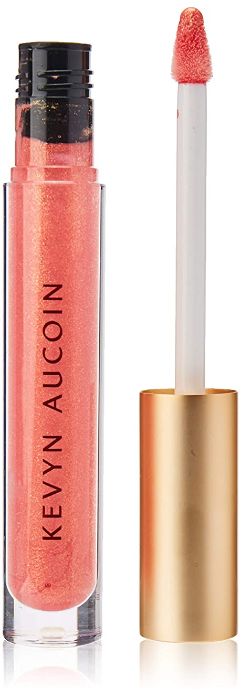 進行中タブレット有名Kevyn Aucoin The Molten Lip Color - Poppy Topaz