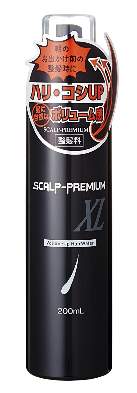 姪適性迫害するスカルププレミアム XL ボリュームアップヘアウォーター
