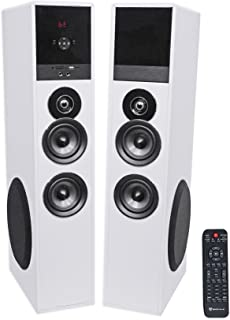 Rockville TM80W Bluetooth Home Theater Tower Speaker System+(2) 8