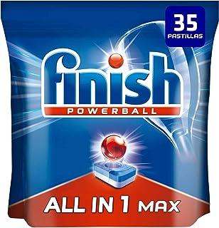 comprar comparacion Finish Powerball All in 1 Max - Pastillas para el lavavajillas todo en 1-35 pastillas
