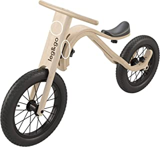 Balance Bike transformable Wooden 3 in 1 Adjustable Height and Multi Functional, Handmade European Quality