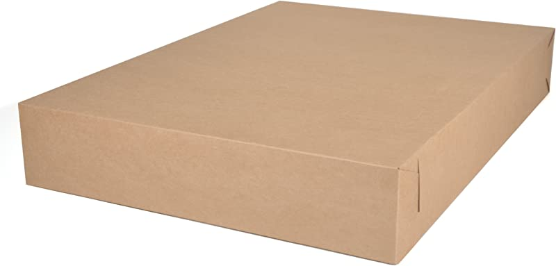 Southern Champion Tray 1095K Kraft Paperboard Non Window Bakery Tray 26 Length X 18 1 2 Width X 4 Height Case Of 50 Pieces