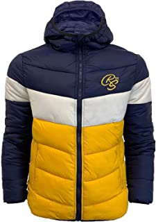 Crosshatch Mens Bubble Jacket Coat Hoodie Quilted Padded KILLINGHAM Warm Winter
