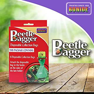 Bonide 037321019718 1971 Japanese Beetle Bagger Trap Bag, Pack of 6, 6 Pack, LAWNGARD