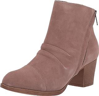 سكيتشرز تاكسي - UPTOWN FUNK - حذاء طويل الكاحل مكشكش قصير مع سحاب جانبي الكاحل للنساء