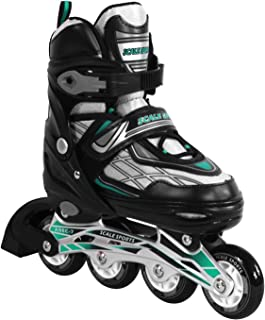 Adjustable Inline Skates for Kids and Adults Safe and Durable Blades for Girls and Boys, Men and Ladies