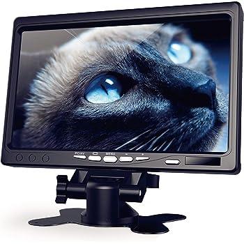 【178°IPS 新モニター】1024*600 1080P 全視野IPS HDMI モニター ラズパイ 液晶 Raspberry Pi用 ディスプレイ Kuman 日本語マニュアル 小型モニター VGA AVポート カメラ監視用/DSLR/PC/DVD Raspberry Pi 4 B+ 3B+ A A+ B B+ 2B 3B に対応 ラズベリー パイ SC7J