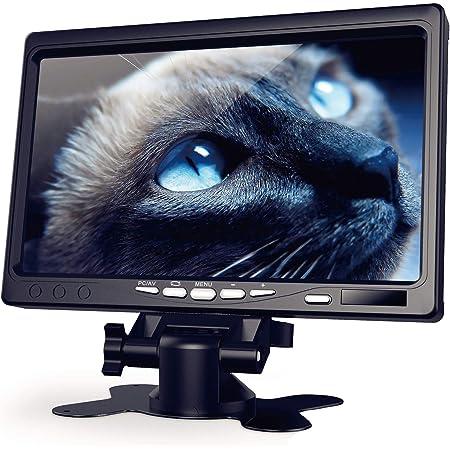 【178°全視野モニター 7インチ】1080P HDMI液晶モニター IPS 小型ディスプレイ Raspberry Pi用 ディスプレイ 1024×600 Kuman 日本語マニュアル 小型モニター HDMI VGA AVポート カメラ監視用/DSLR/PC/DVD Raspberry Pi 4/3B/2B に対応 ラズベリーパイ SC7J