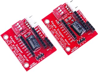 ARCELI 2Pcs 3D Printer Stepper Motor Driver Control Extension Shield Board para A4988 / DRV8825