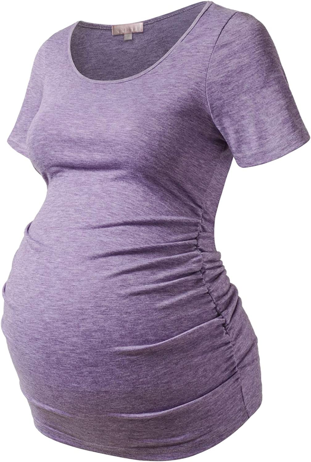 Bhome Maternity Shirt Short Quantity limited Sleeve Pregna Layering Tshirt Summer 2021 autumn and winter new