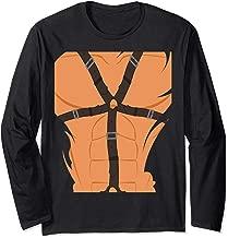 Funny Man BDSM Bondage Halloween Costume Long Sleeve T-Shirt