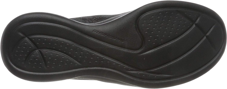 Skechers Envy - Vibrant Soul, Sneaker Infilare Donna Navy Mesh Hot Melt Gray Trim Bbk