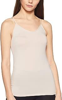 Marks & Spencer Women's Plain/Solid Vest (3608_Almond_8)
